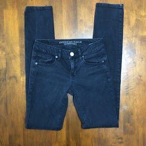 AEO Black Skinny Jeans